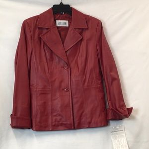 Guillaume leather jacket, Small, NEW